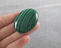 Malachite Cabochon, AA Quality, Malachite Stone, Oval Cabochon, Loose Cabachons, Pendant Stone, Green Gemstone, Green Cabochon, Oval Stones