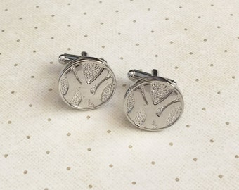Yankees Cufflinks Cuff New York NY Links in Silver