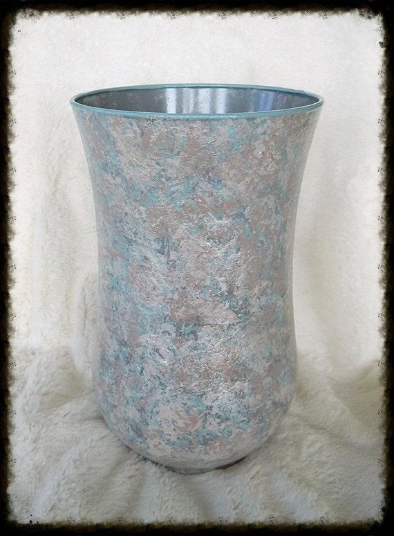Large glass vase centerpiece vases beach decor coastal