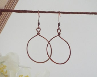 Simple Copper Loops | Elemental Collection | 1009