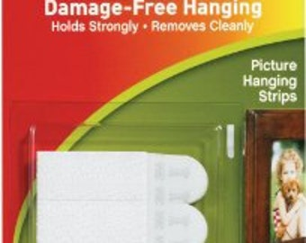 Velcro Command Strips for Hanging Small Arrows