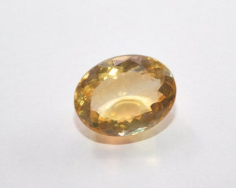 Top Quality 17.5 Ct Citrine Oval