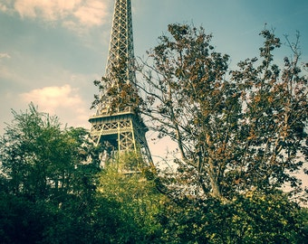 Paris Print - Eiffel Tower Print, Paris Wall Art, Paris Decor - Paris Photography Print