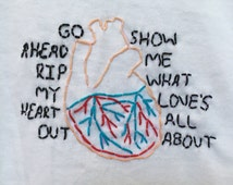 5SOS Embroidered If You Don't Know T-Shirt