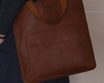 Leather bag, Leather bag brown, Leather bag women, leather laptop bag, handbag, leather shopping bag