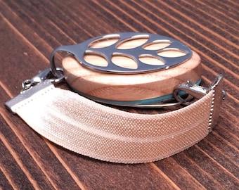 SILVER Elastic Band Bracelet for the Bellabeat LEAF