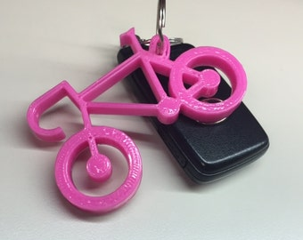 3D printed Road Bike Keychain
