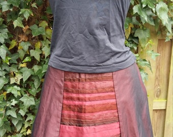 6-Courses skirt Red
