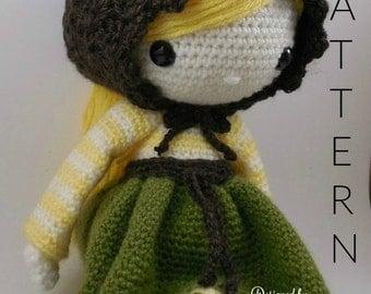 Simone - Amigurumi Doll Crochet Pattern