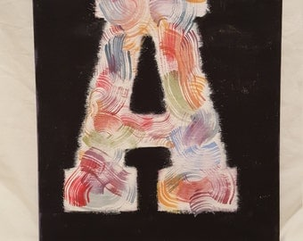 Canvas Letter Art