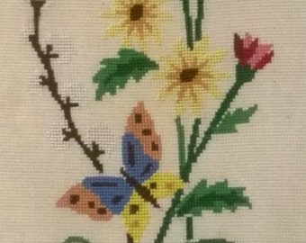 45 x 20 cm Needlepoint Tapestry Wall Hanging. Free Shipping