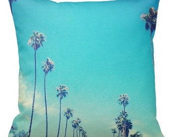 Beverley Hills Cushion Cover Green Blue