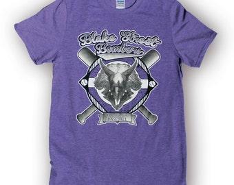 Colorado Rockies Shirt - Blake Street Bombers -  Colorado Flag shirt - Purple