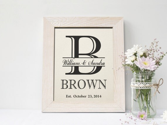 Second Wedding Gift For Husband : Second Wedding Anniversary Cotton Print, 2 years together gift, 2nd ...