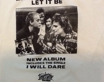 The Replacements Let It Be hand silk screened cotton t shirt