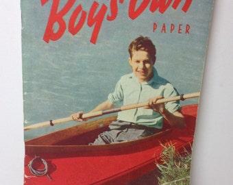vintage magazine - 1940s magazine - vintage boy's book - 1940s kitsch magazine - Gay gift - Gay present - kitsch boys book - boy's own