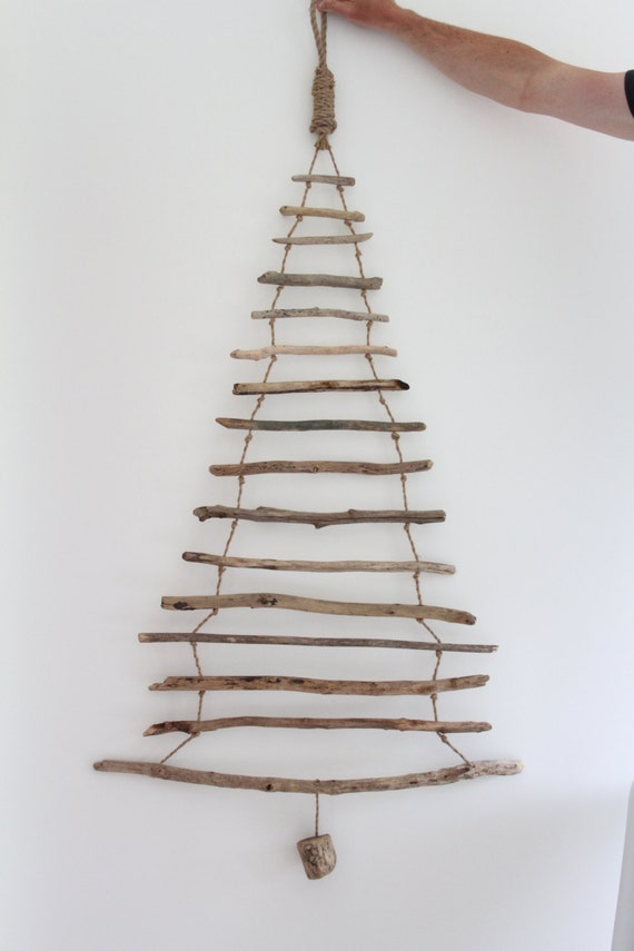 hanging driftwood christmas tree driftwood christmas tree