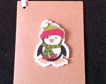 Penguin Gift Tags, To From Tag