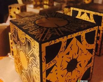 Hellraiser Lament Configuration Box 3x3x3*** w/ black display stand