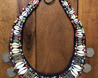 22in.''Ethnic jewelry'' Necklace from India.