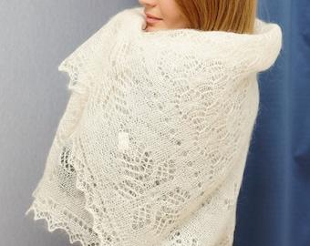 White down lace gossamer