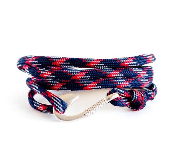 Hook Bracelet, Paracord Bracelet, Unisex Bracelet, Woven Paracord Bracelets