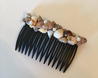 Shell Hair Comb / Beach Accesories