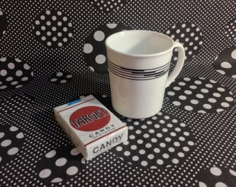Lineage Lounge~Corelle~Corning~Black Lines~Coffee Cup~Mug