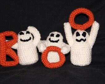 Boo! Crochet Ghosts