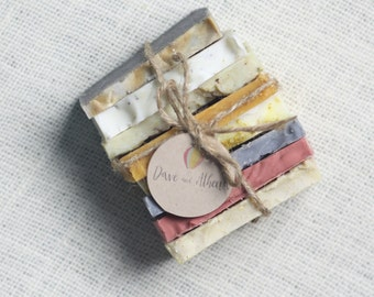 Soap Sampler Set, Travel Soap Set, Gift Soap Set, Soap Ends, Mini Soap, 1lb of Soap, Vegan Soap Set, Cold Process Soap, Thank You Gift
