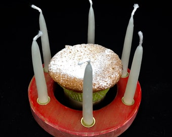 Birthday candle ring