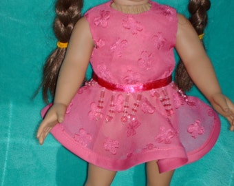 American Girl doll party dress.