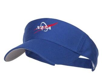 NASA Logo Embroidered Sports Visor