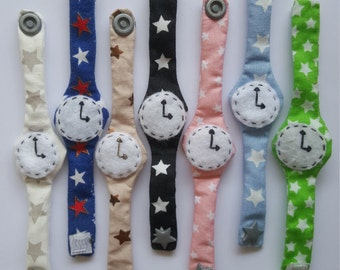 Fabric watch for baby star
