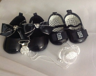 Baby shoes ,wedding shoes, little girl shoes, baby girl shoes, newborn shoes