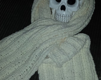 Warm and Cozy Knitted Scarf