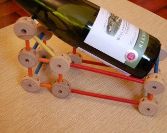 Vintage Tinker Toys Wine Bottle Holder