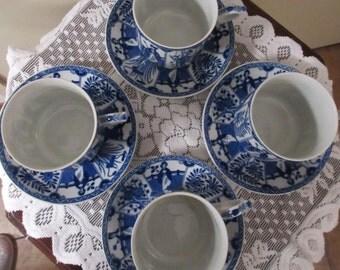 Fine porcelain tea cups