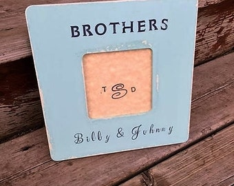 brothers picture frame siblings picture frame sisters picture frame new brothers gift brother birthday baby boy gift baby shower gift