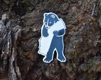 California Bear Patch - Iron-on