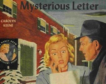 Carolyn Keene ~ Nancy Drew Mystery Stories ~ Nancy's Mysterious Letter