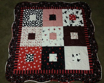 Baby Quilt- Olivia the Pig