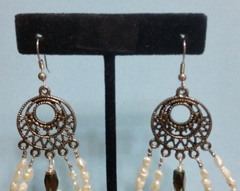 Pearls Abound, Earrings