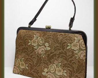 Vintage Garay Handbag,Vintage Tapestry Handbag,Vintage Tapestry Purse,Vintage Handbag,Vintage Garay Purse,Vintage Purse,Vintage Pocketbook