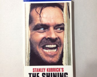 The Shining - VHS Stanley Kubrick Stephen King