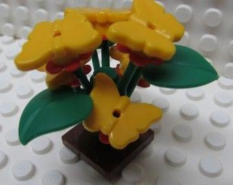 Lego Butterfly Bush in Orange