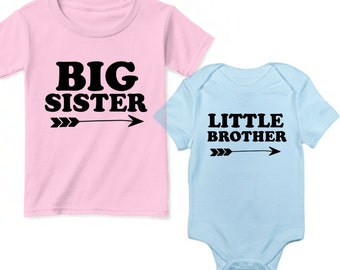 Big Sister Little Brother Outfits, Sibling Matching Outfits, Little Brother Big Sister Shirts, Matching Brother Sister Outfits Little Mister