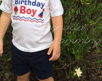 Faux Smocked Birthday shirt for boys or girls
