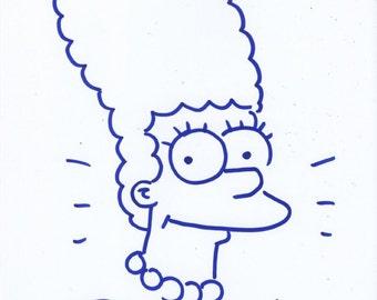 Bill Morrison Signed Sketch