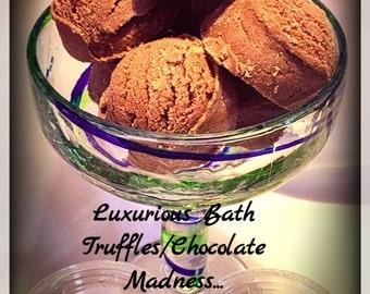 Free shipping Organic 2 Bath Truffles /Bath Bombs/Frizzy /Ice cream/bath melts/